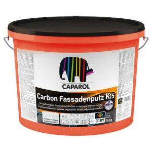 Tencuiala decorativa Caparol Carbon Fassadenputz este o tencuiala decorativa de inalta clasa, intarita cu fibre de carbon cu efect puternic de hidroperlare dar în același timp o înaltă permeabilitate la vaporii de apă.