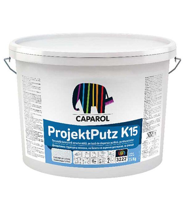 Tencuiala decorativa Caparol ProjektPutz R si K este ideala ca strat de finisare a sistemelor de termoizolatie.