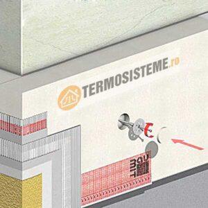 Termosistem de fatada DUO EPS80 BAUMIT 10cmeste un sitem de izolatie pentru fatada casei. Rezistență si durabilitate ridicată.